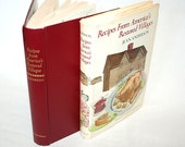 Vintage Cookbook First Edition Recipes From America's Restored Villages Schnitz Pie Kiss Pudding
