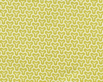 Sale ONE YARD Joel Dewberry Modern Meadow Honeycomb in Sunglow