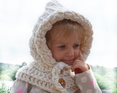 Crochet PATTERN Hooded wraper Toddler Kids Adult neckwarmer cowl scarf infinity. pdf(028)