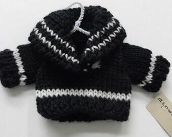Handknit Ski Sweater Ornament