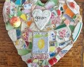 Mosaic Heart  GARDEN