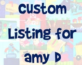 Custom Listing for Amy D - Itsy Bitsy Spider & Old MacDonald Busy Book Folder