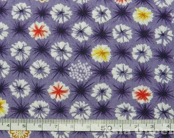 "USD 8 - Firworks flower for dress - purple - 1 yard - cotton - Check out with code ""5YEAR"" to save 20% off"