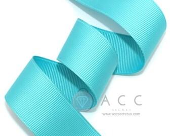 Jade Grosgrain Ribbon - 5mm(2/8''), 10mm(3/8''), 15mm(5/8''), 25mm(1''), 40mm(1 1/2'')