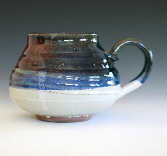 DISCOUNTED Extra Extra Large Coffee Mug, 34 oz, handmade ceramic cup, ceramic stoneware mug