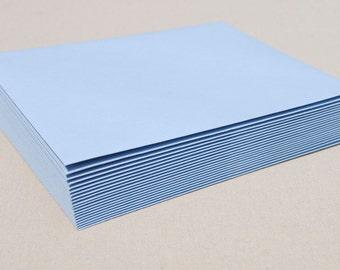 Set of 20 Light Blue Envelopes