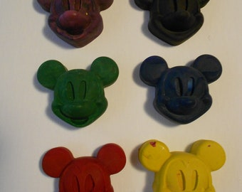 Mickey Inspired Crayon You pick the color