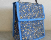 Insulated Lunch Bag - Golden Leaves