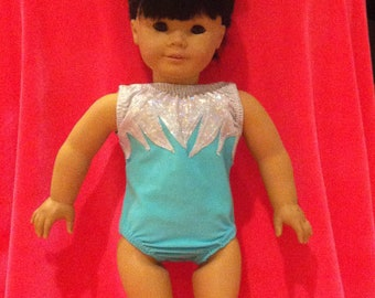 New American Girl Doll Leotard  and matching scrunchie choose any color