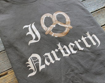 I Pretzel Narbeth T-Shirt, American Apparel, S-XL available