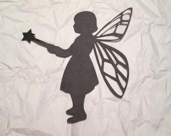 4 Fairy Silhouette Die Cuts