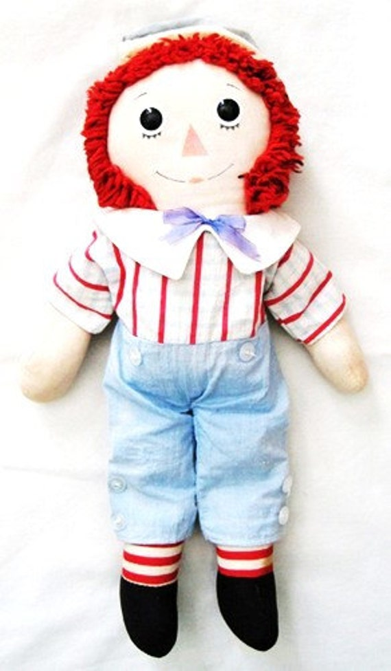 Vintage Raggedy Andy Knickerbocker Doll: Bicentennial 1976