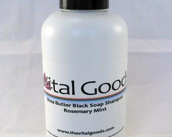 Dreadlock Shampoo Rosemary Mint Shea Butter Black soap shampoo 4oz
