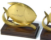 Vintage Fish Bookends