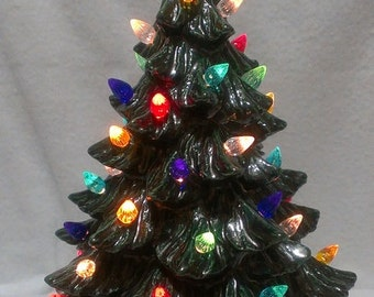 "Ceramic Christmas Tree (11 1/2"")"