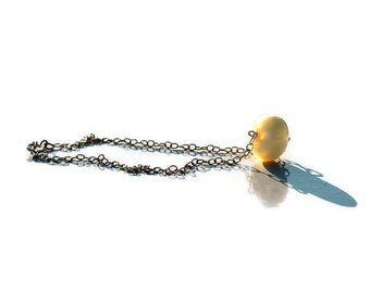 Handmade Bracelet or necklace of Happiness- Amber on Sterling Silver 925 chain