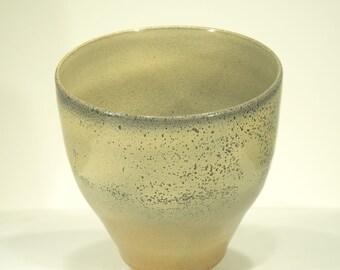 Ceramic Vase, Elephant Skin, Shino Glaze, Ornamental Vessel, Home decor, Signed, 103