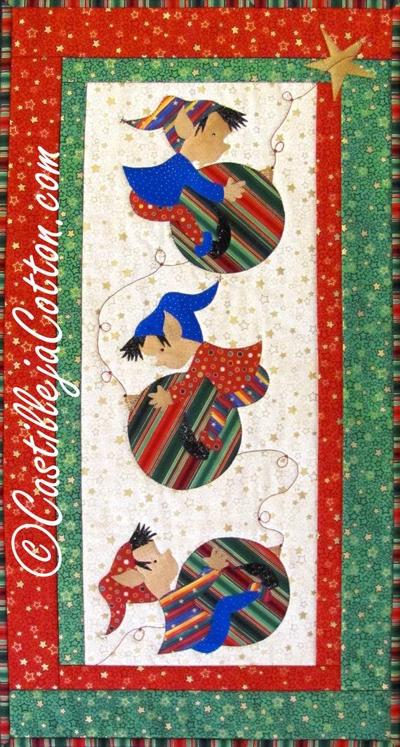 Items Similar To Christmas Elves Quilt Epattern 4473 3