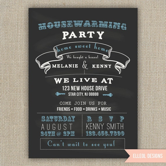 Items Similar To Housewarming Party Invitation