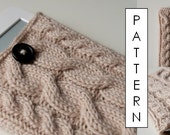 Kare Knits' Signature Cable Knit eReader / iPad Mini Case - KNITTING PATTERN ONLY
