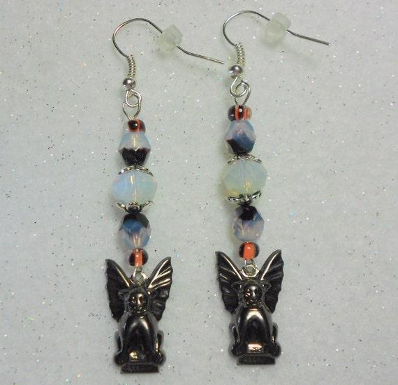 Halloween Earrings Gargoyle Earrings