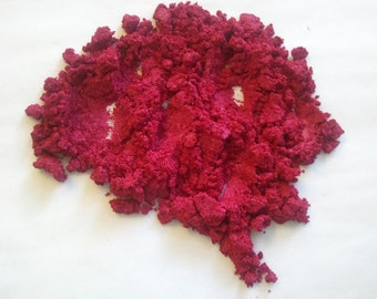 Powdered Mica RED ORANGE Soap Color Mineral Makeup Soapmaking Candles Spa Products