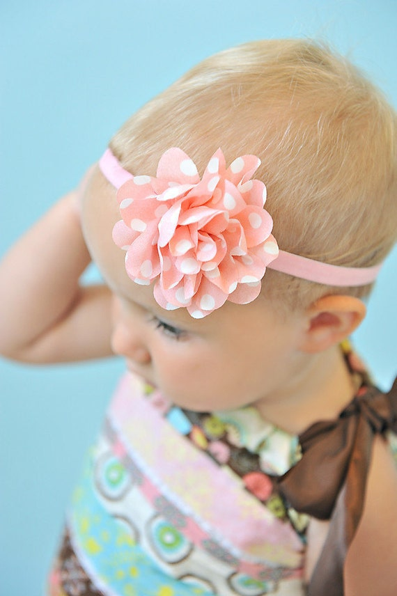 Baby Headband - Shabby Headband - Toddler Headband