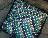 Granny Square Pillow On Sale