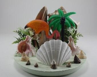 Vintage Flamingo Florida Shell Souvenir