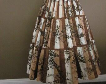 1950s 1960s Madalyn Miller Original Circle Skirt