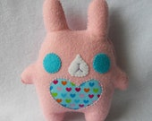 30% OFF Pink Chubby Bunny Plush by Michelle Coffee