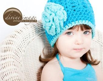 Crochet Hat, Toddler Girl Hat, Spring Hats, Hats for Girls, Girl Beanie, Child Hat