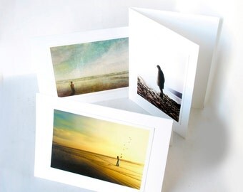 Images of YOUR Choice - Mix or Match - Three 5 x 7 Fine Art Greeting Cards from My Antarctica - Blank Inside - Archival Quality Prints