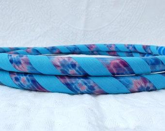 NEW: Tie Dye Sky Custom Hula Hoop - Collapsible or Standard - Any Size Hoola Hoop