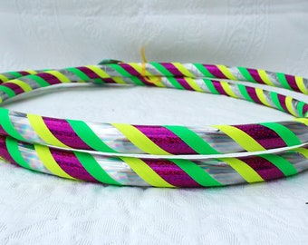 Fruit Punch Custom Hula Hoop - Collapsible or Standard - ANY Size Hoola Hoop