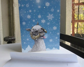 Star Wars Christmas Card Tauntaun