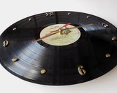QUEEN Vinyl Record Wall Clock (A Night At The Opera)