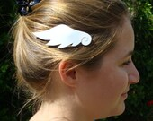Mini Angel Wings Hair Clip or Bat Wings