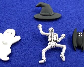 Halloween Buttons Set No. 8