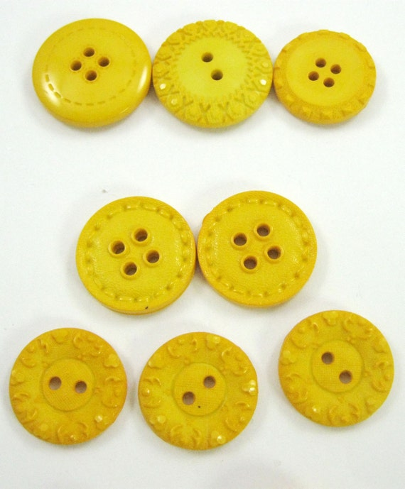 Yellow Button Collection
