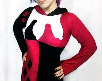 Harley Quinn Hoodie Dress