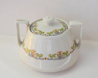 Antique Art Nouveau Porcelain Bowl
