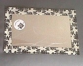 Baby Mirror Mat Duct Tape Damask