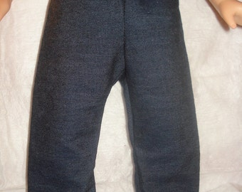 Denim blue jean pants for 18 inch Dolls - ag130