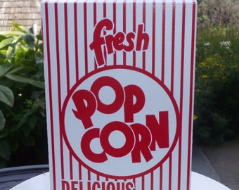 24 Retro Popcorn Box  1.25 oz.