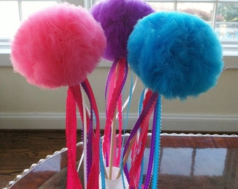 1 Tulle Princess Wand (Any Color)