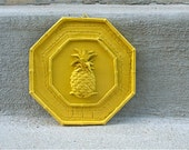 Yellow Pineapple Wall Hanging Decor - Bright & Cheery