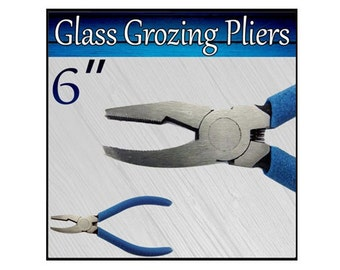 "6"" Glass Grozing Pliers - GGP01"