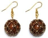 Tutorial - Netted Bead Earrings