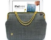 IPad Mini case - GRAY GOLD - Duchess Case for Mini iPad